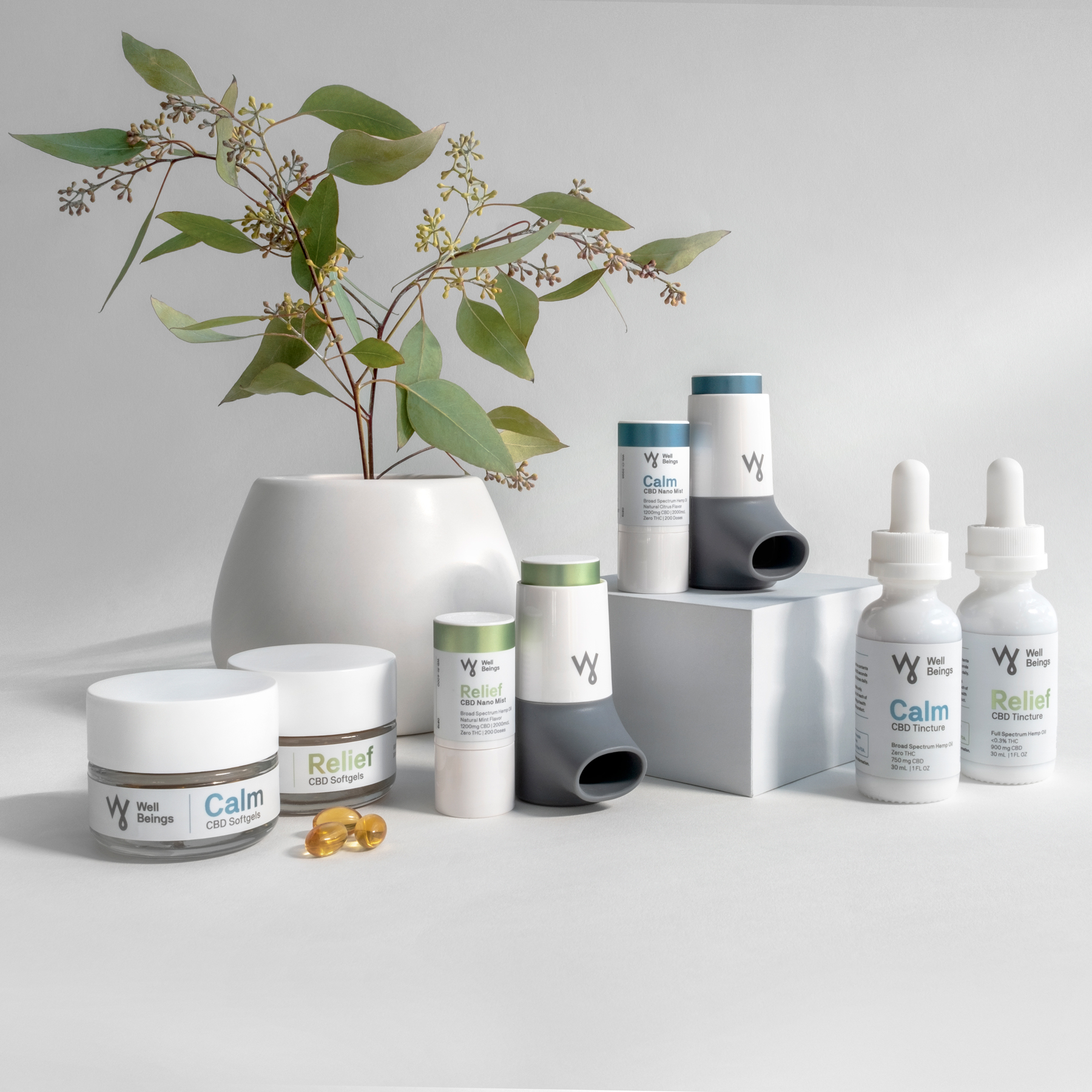 Photo of WellBeings family of products
