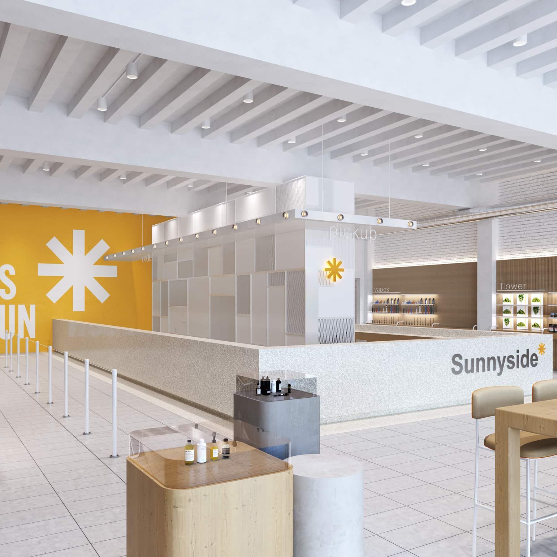 Sunnyside Dispensary interior.