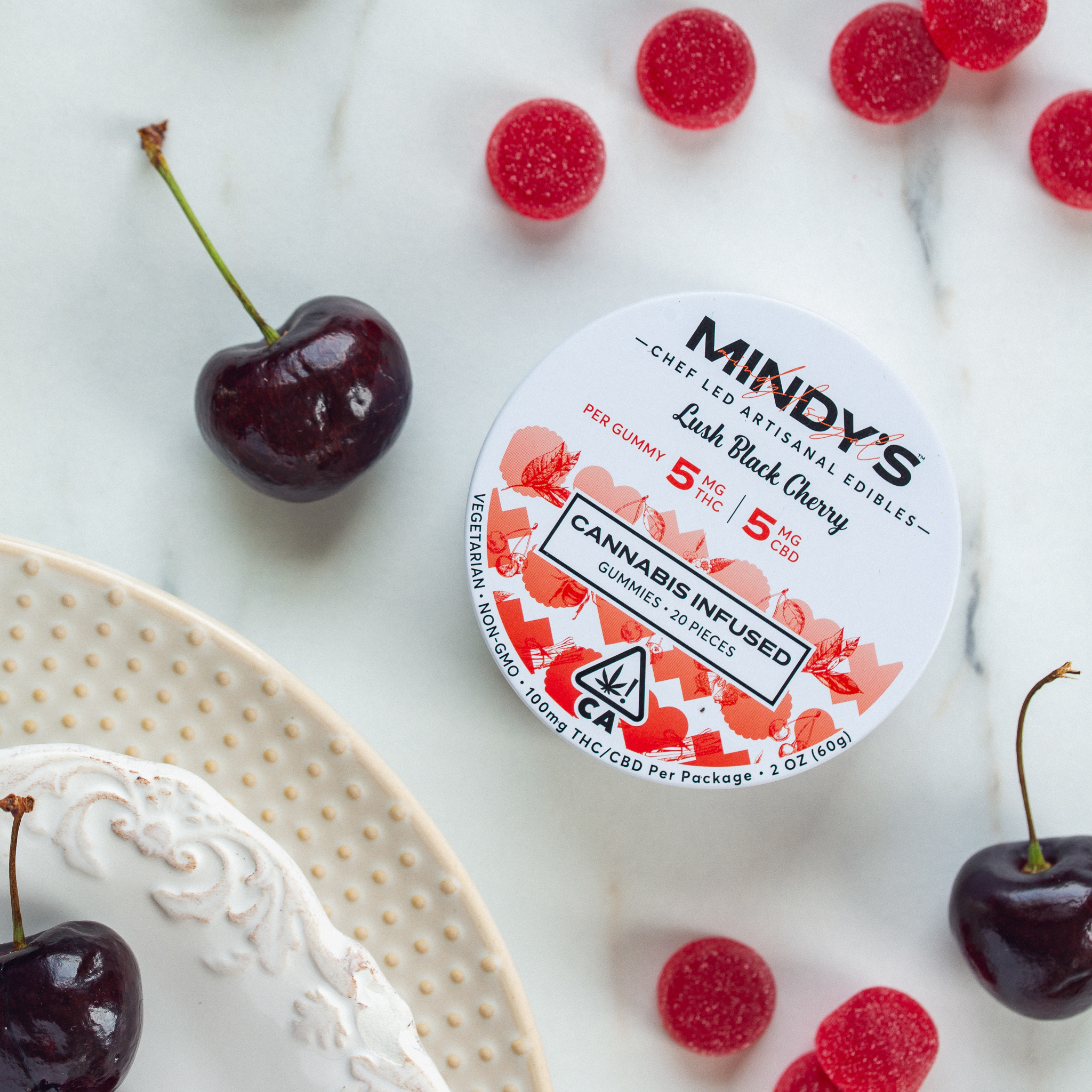 Mindys Lush black Cherry Package
